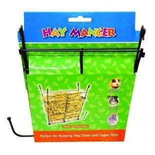 Critter Bunch Metal Hay Manger, Small Animal Dishes, Burgham Sales Ltd. - PetMax Canada