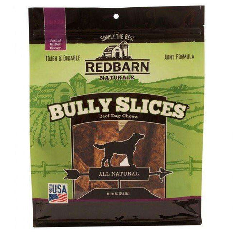 Red Barn Natural Bully Slices Peanut Butter, Chew Products, Red Barn Pet Products - PetMax
