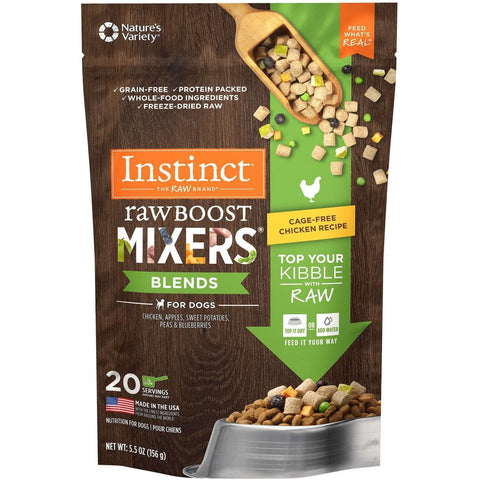 Nature's Variety Instinct Raw Boost Mixers Blends Chicken