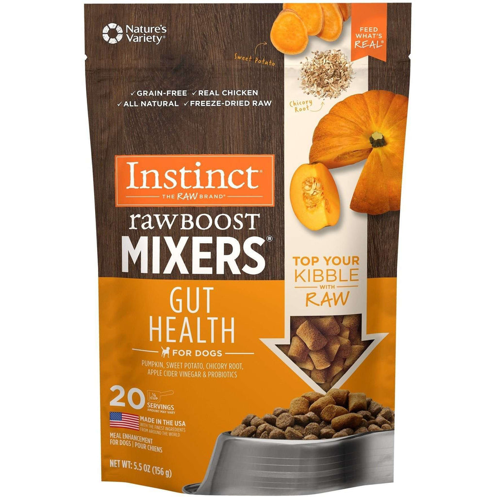 Nature's Variety Instinct Raw Boost Mixers Gut Health  Dog Food - PetMax
