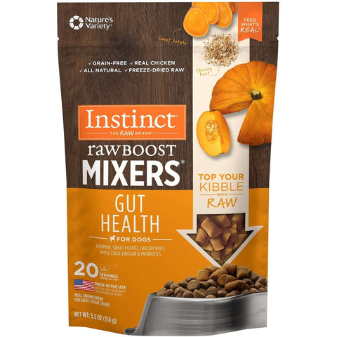 Nature's Variety Instinct Raw Boost Mixers Gut Health