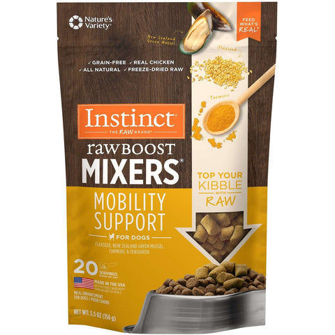 Nature's Variety Instinct Raw Boost Mixers Mobility