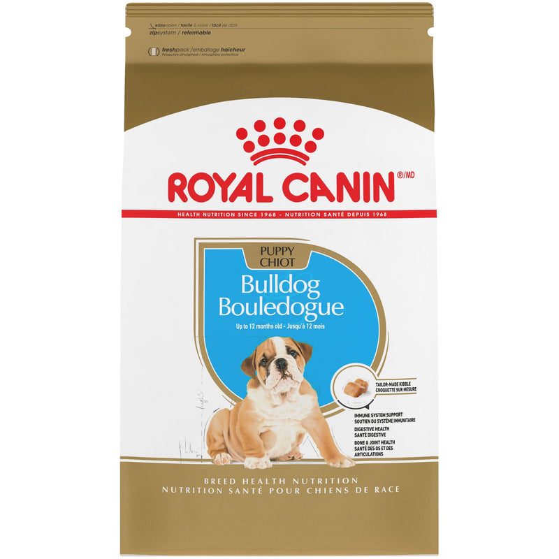 Royal Canin Bulldog Puppy Food [variant_title] [option1] | Dog Food Royal Canin Canada -  pet-max.myshopify.com