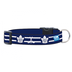 NHL Toronto Maple Leafs Collar, Dog Collars, Karsuh Activewear Inc. - PetMax Canada