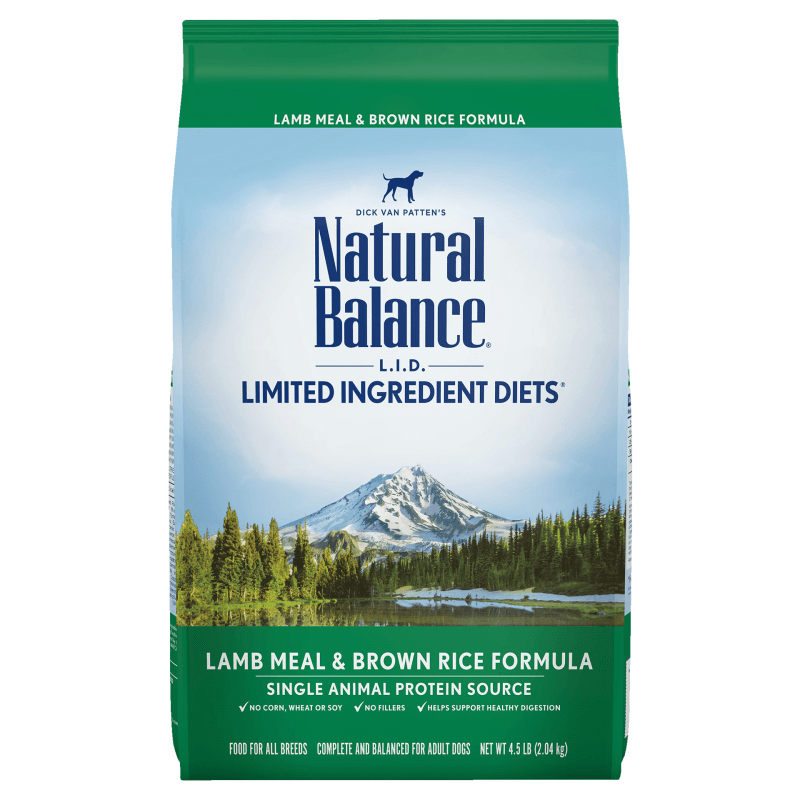 Natural Balance Dog Food Lamb Meal & Rice