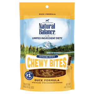 Natural Balance L.I.D. Chewy Bites Duck | Dog Treats -  pet-max.myshopify.com