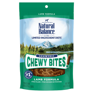 Natural Balance L.I.D. Chewy Bites Lamb | Dog Treats -  pet-max.myshopify.com