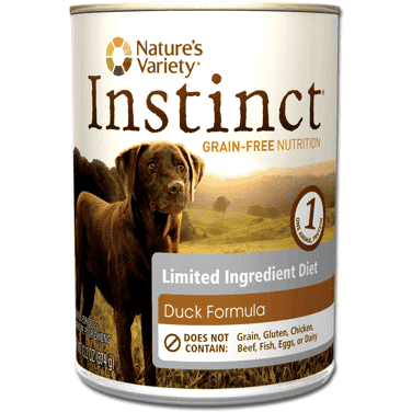 Nature's Variety Instinct Can L.I.D. Duck, Canned Dog Food, Natures Variety - PetMax