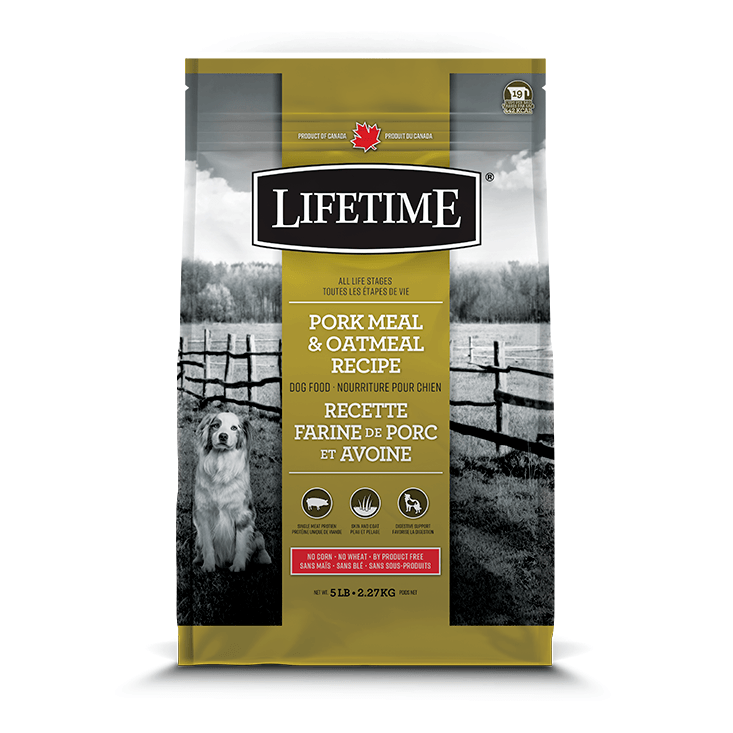Lifetime All Life Stages Dog Food Pork & Oatmeal  Dog Food - PetMax