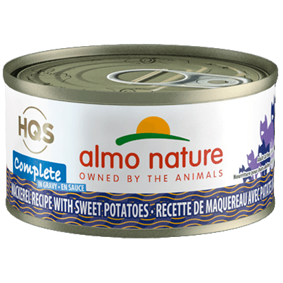 Almo Nature Complete Mackerel With Sweet Potato  Canned Cat Food - PetMax