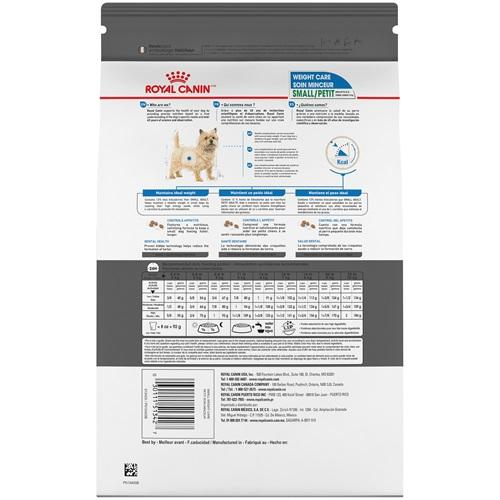 Royal Canin Dog Food Small Weight Care