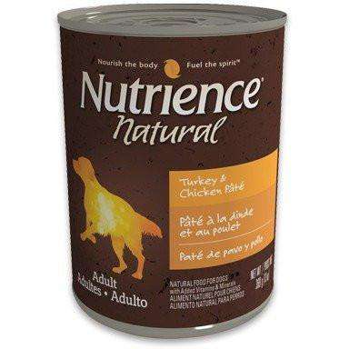 Nutrience Natural Canned Dog Food Adult Turkey & Chicken Pate | Canned Dog Food -  pet-max.myshopify.com