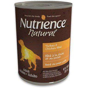 Nutrience Natural Canned Dog Food Adult Turkey & Chicken Pate  Canned Dog Food - PetMax
