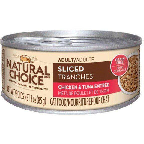 Nutro Canned Cat Food Adult Sliced Chicken & Tuna