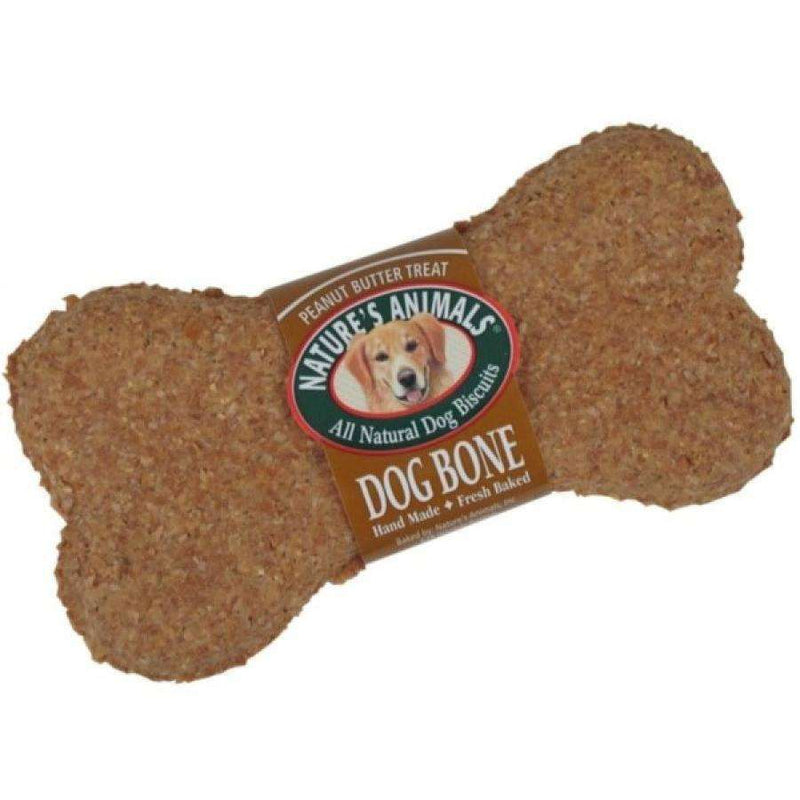 Nature's Animals Big Bite Peanut Butter  Dog Treats - PetMax