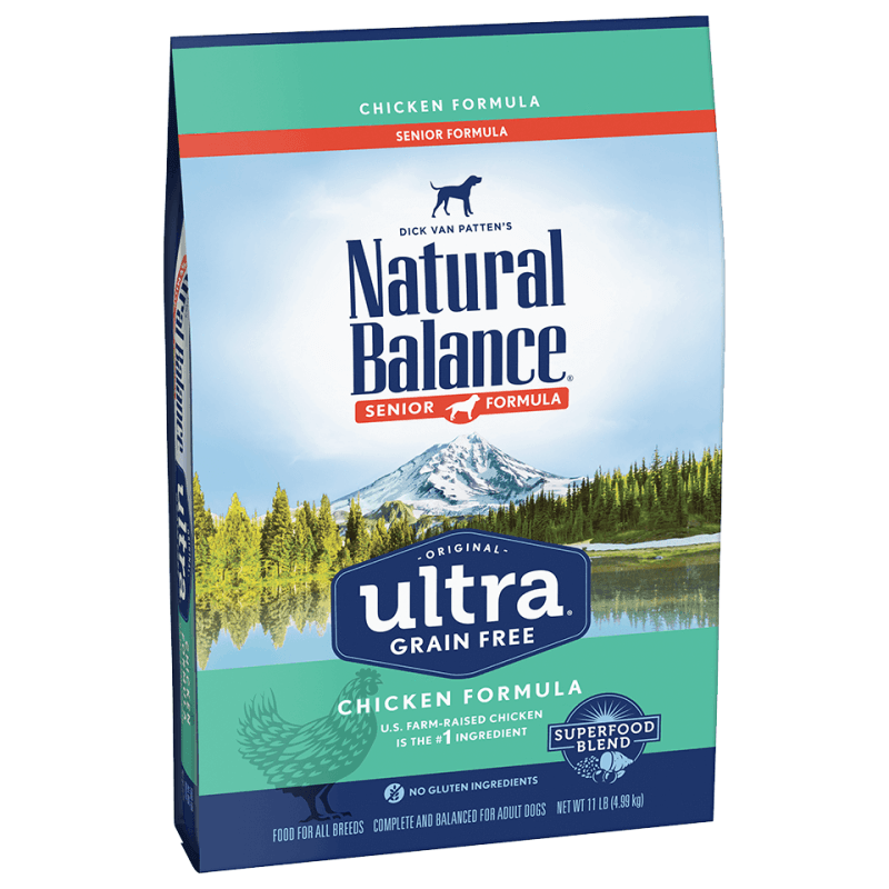 Natural Balance Dog Food Ultra Grain Free Senior Chicken | Dog Food -  pet-max.myshopify.com