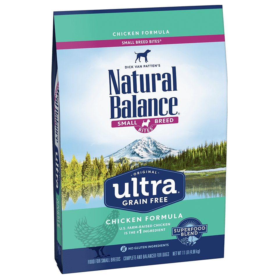 Natural Balance Dog Food Ultra Grain Free Small Breed Chicken Dog Food [variant_title] [option1] - PetMax.ca