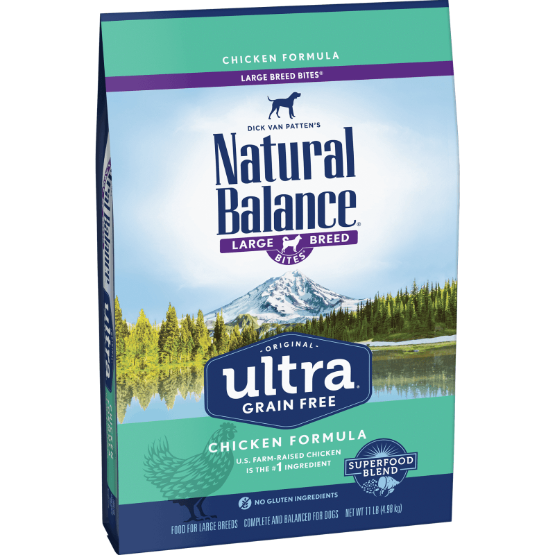 Natural Balance Dog Food Ultra Grain Free Large Breed Chicken  Dog Food - PetMax