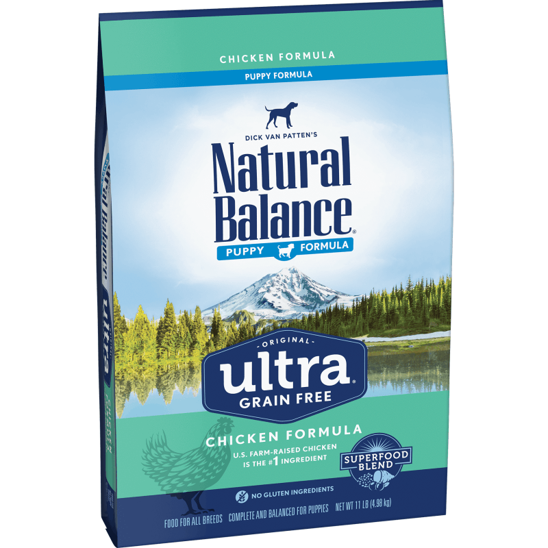 Natural Balance Dog Food Ultra Grain Free Puppy Chicken | Dog Food -  pet-max.myshopify.com