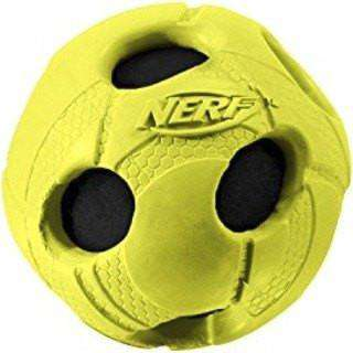 Nerf Dog Crunch & Squeak Soccer Ball  Dog Toys - PetMax