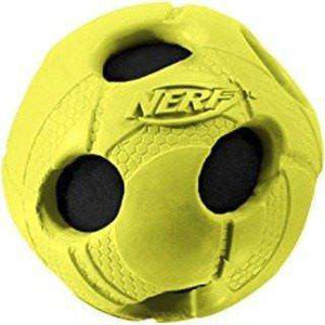 Nerf Dog Crunch & Squeak Soccer Ball, Dog Toys, Rolf C Hagen Inc. - PetMax Canada