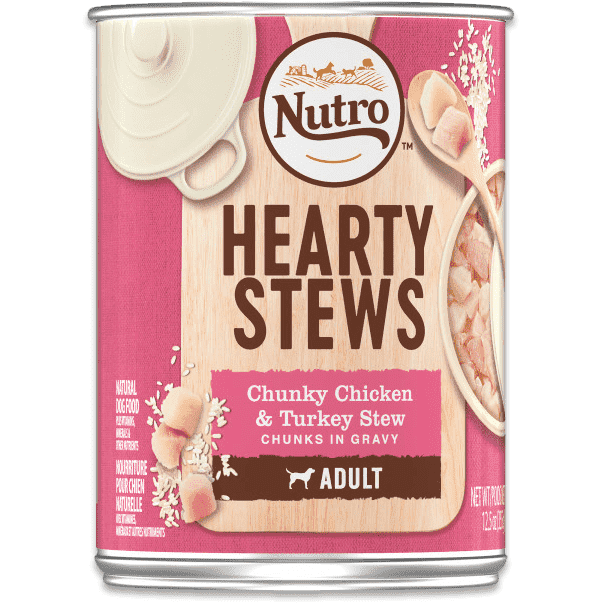 Nutro Canned Dog Food Hearty Stew Chicken & Turkey | Canned Dog Food -  pet-max.myshopify.com
