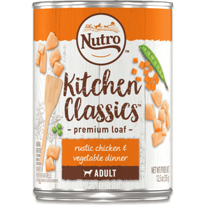 Nutro Canned Dog Food Kitchen Classics Senior Chicken & Vegetable, Canned Dog Food, Nutro Pet Products - PetMax