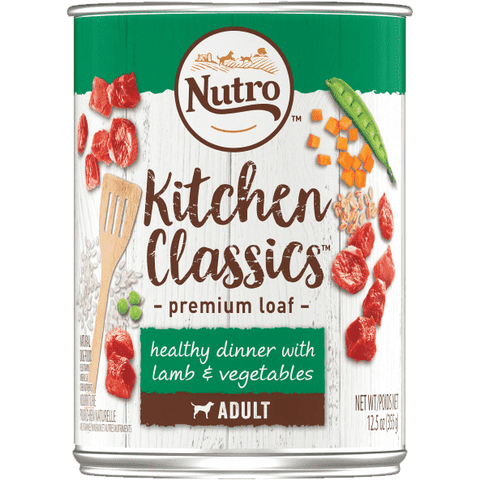Nutro Canned Dog Food Kitchen Classics Lamb & Vegetables