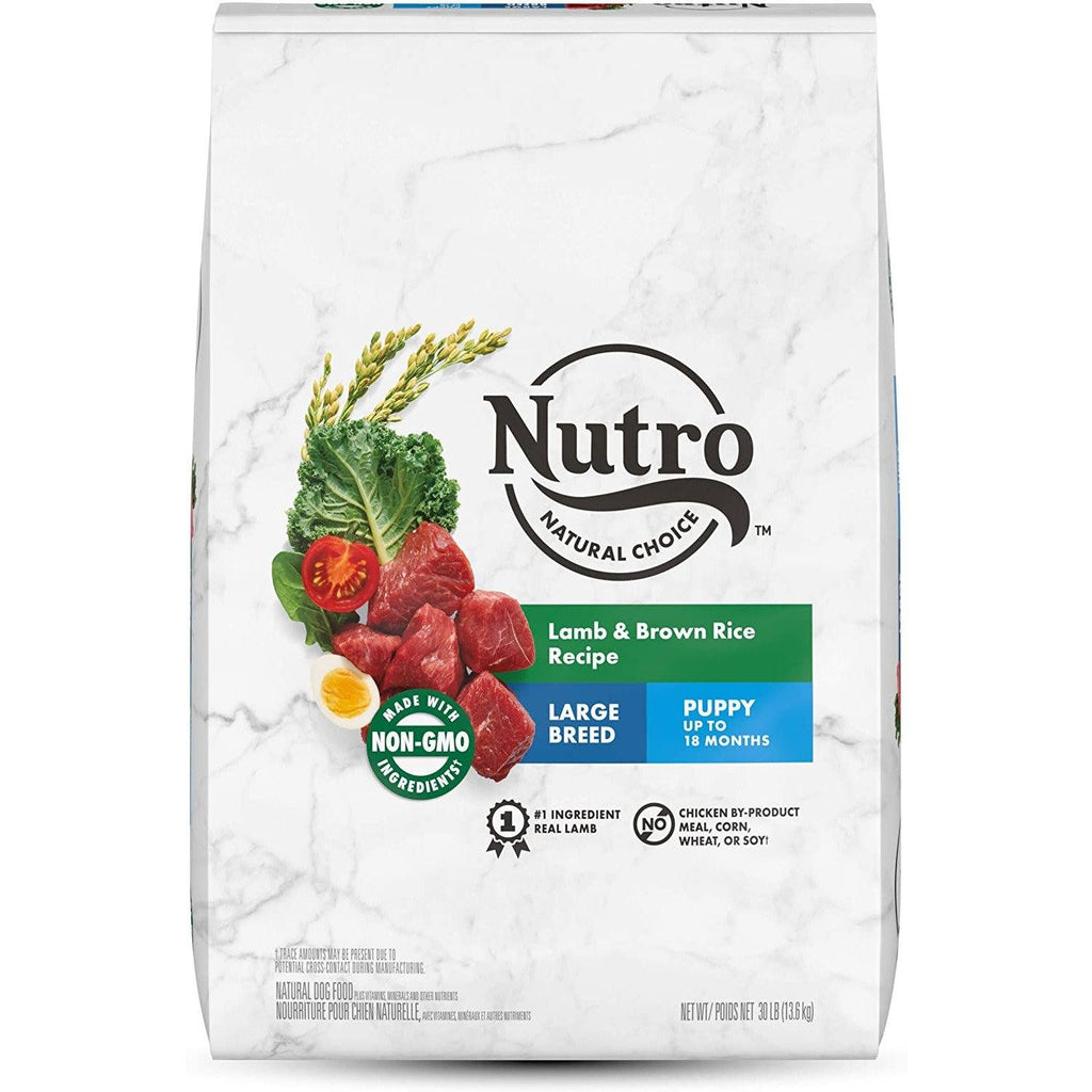 Nutro Natural Choice Large Breed Puppy Dry Dog Food Lamb & Rice