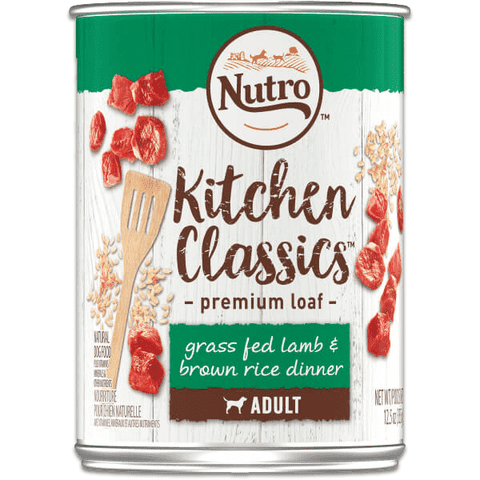 Nutro Canned Dog Food Kitchen Classics Lamb & Rice