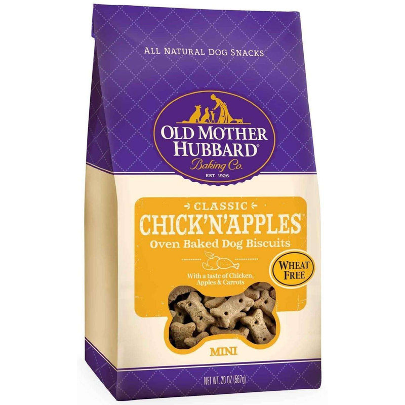 Old Mother Hubbard Crunchy Chick'N Apple Mini  Dog Treats - PetMax
