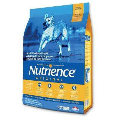 Nutrience Original Dog Food Medium Breed Chicken & Rice, Dog Food, Nutrience Pet Food - PetMax