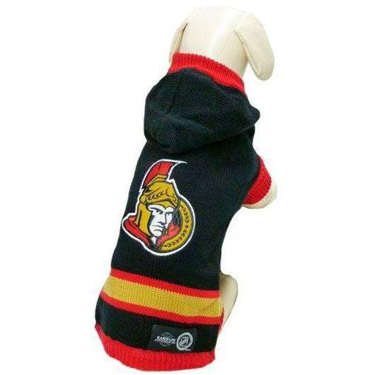 NHL Ottawa Senators Sweater  Dog Clothing - PetMax