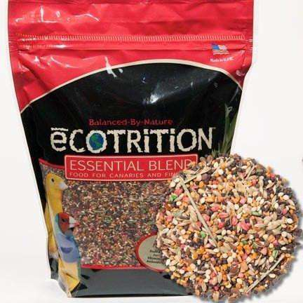 8 In 1 Ecotrition Canary / Finch Blend Diet