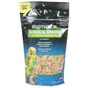8 In 1 Ecotrition Parakeet Grains & Greens, Bird Treats, 8 in1 Pet Products, Inc. - PetMax