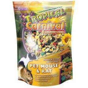 Brown's Tropical Carnival Mouse & Rat Food, Small Animal Food Dry, F.M. Bown's Sons Inc. - PetMax