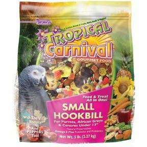 Brown's Tropical Carnival Small Hookbill Food, Bird Food, F.M. Bown's Sons Inc. - PetMax Canada