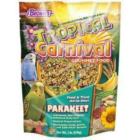 Brown's Tropical Carnival Parakeet Food, Bird Food, F.M. Bown's Sons Inc. - PetMax