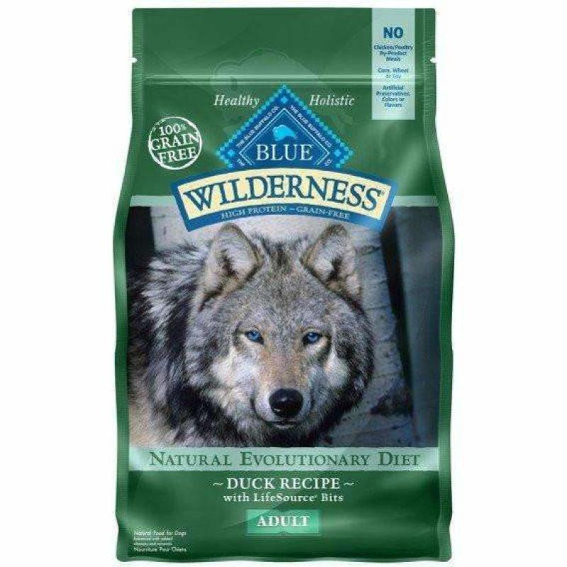 Blue Buffalo Wilderness Dog Food Duck Formula  Dog Food - PetMax
