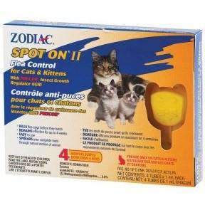 Zodiac Spot On Cat And Kitten, Flea & Tick, Zodiac - PetMax Canada
