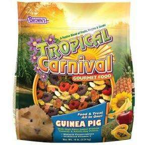 Brown's Tropical Carnival Guinea Pig Food, Small Animal Food Dry, F.M. Bown's Sons Inc. - PetMax Canada