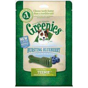 Greenies Blueberry Flavour Treats