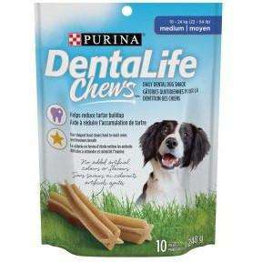 Purina Dentalife Medium Dog Dental Chews, Dog Treats, Nestle Purina PetCare - PetMax Canada