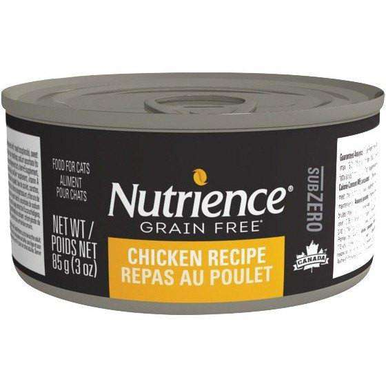 Nutrience Grain Free Canned Cat Food Sub Zero Chicken  Cat Canned Food - PetMax
