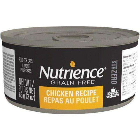 Nutrience Grain Free Canned Cat Food Sub Zero Chicken