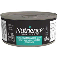 Nutrience Grain Free Canned Cat Food Sub Zero Turkey, Salmon & Duck, Cat Canned Food, Nutrience Pet Food - PetMax Canada