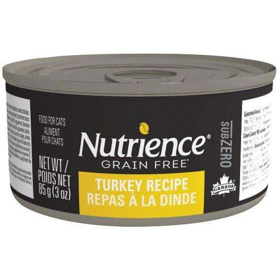 Nutrience Grain Free Canned Cat Food Sub Zero Turkey  Cat Canned Food - PetMax