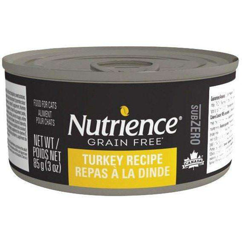 Nutrience Grain Free Canned Cat Food Sub Zero Turkey, Cat Canned Food, Nutrience Pet Food - PetMax Canada