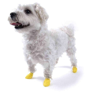 Pawz Dog Boots Yellow / XX-Small Dog Clothing - PetMax