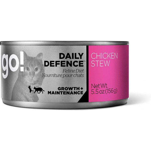 Go! Canned Cat Food Daily Defence Chicken Stew, Canned Cat Food, Petcurean - PetMax